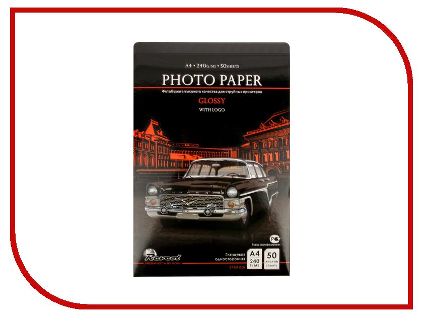 Фотобумага Revcol глянцевая A4 240g/m2 50 листов Premium