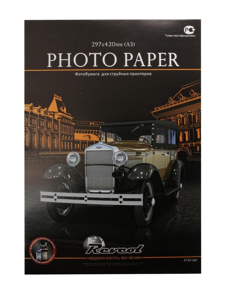 Фотобумага Revcol A3 200g/m2 глянцевая 50 листов Econom miss moter 200g