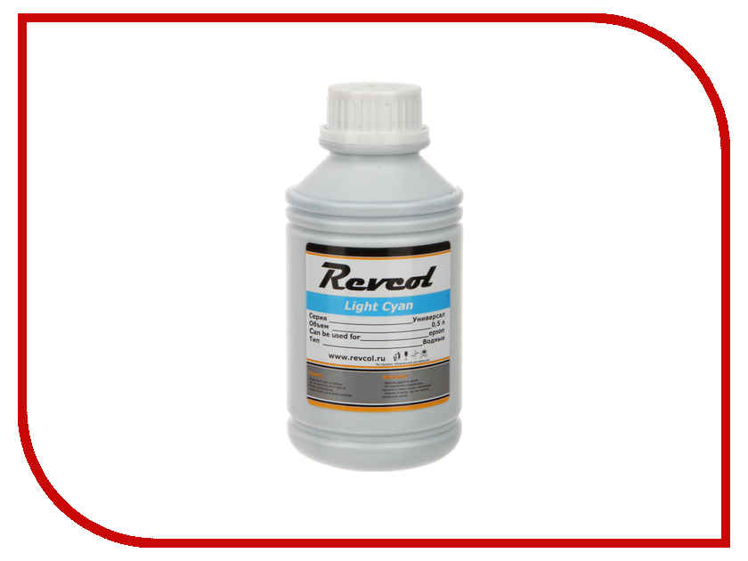 Картридж Revcol Универсал для Epson 500ml Light Cyan Dye<br>