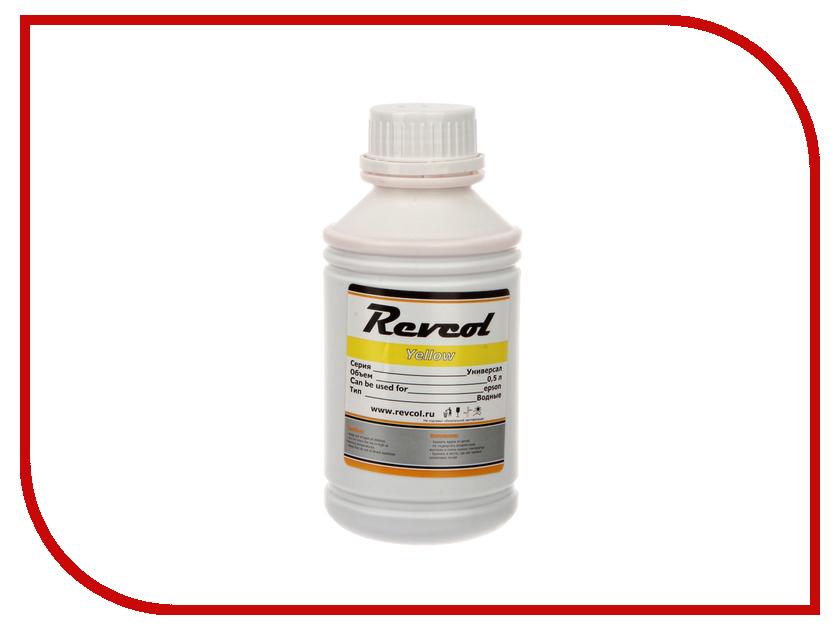 Картридж Revcol Универсал для Epson 500ml Yellow Dye<br>