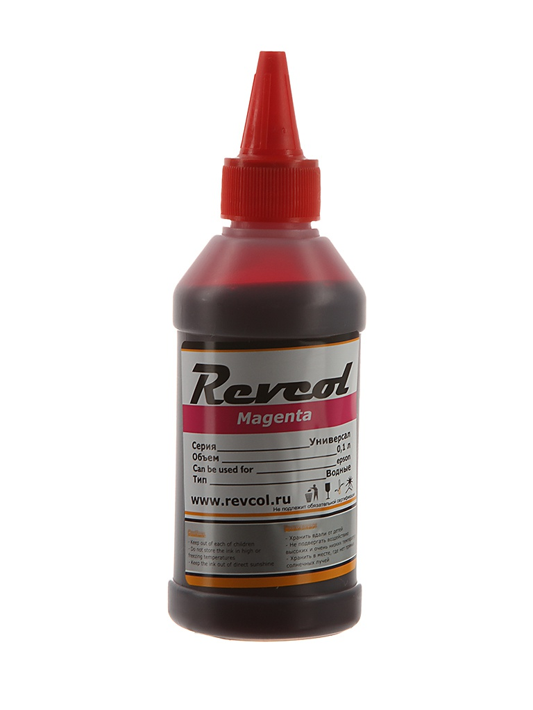 Чернила Revcol серия L 100ml Magenta Dye