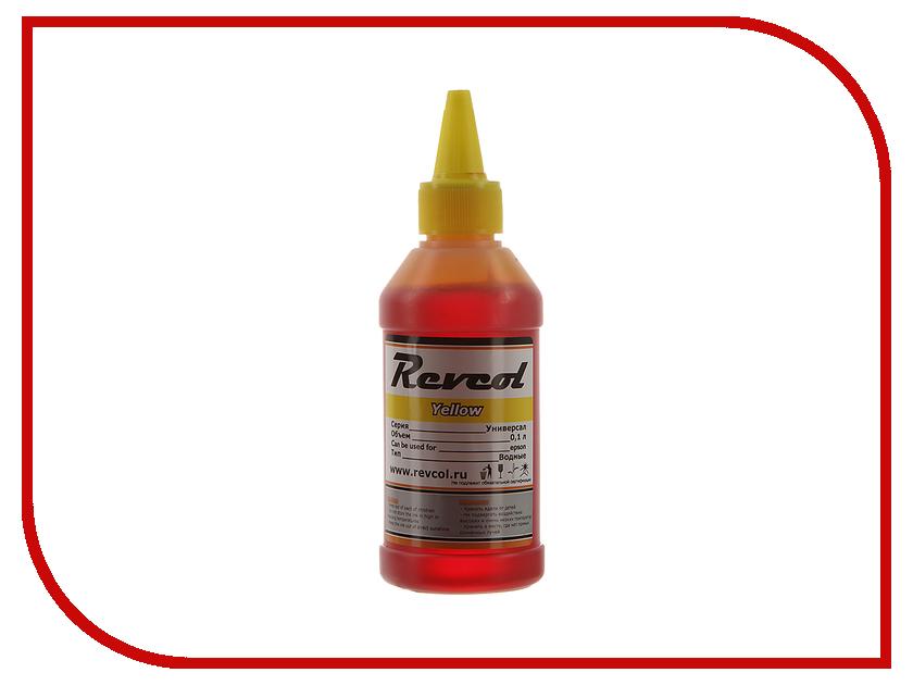 Картридж Revcol серия L 100ml Yellow Dye