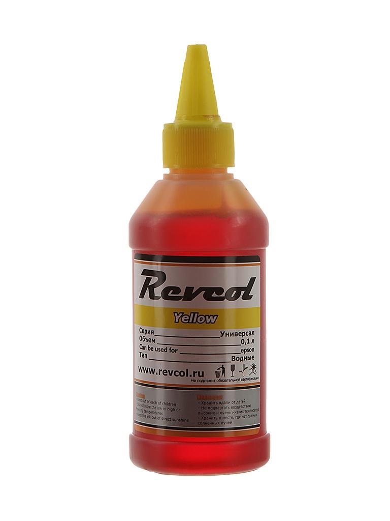 Чернила Revcol серия L 100ml Yellow Dye