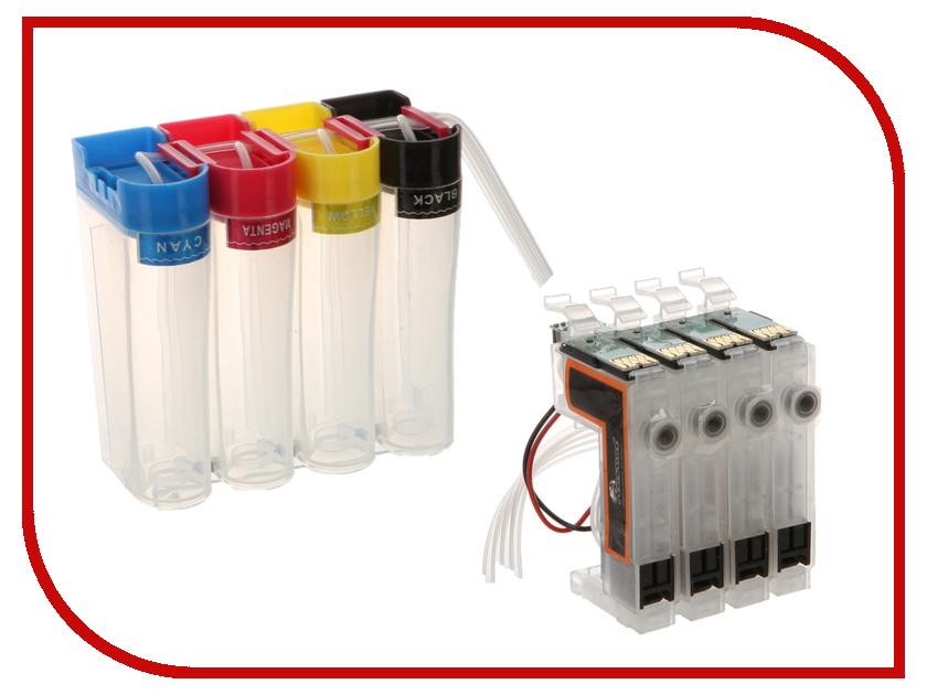 Система непрерывной подачи чернил Revcol Epson №17 XP 103 картридж revcol универсал для epson 500ml cyan dye