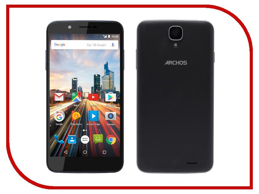Сотовый телефон Archos 55 Helium 4 Black archos 45c helium