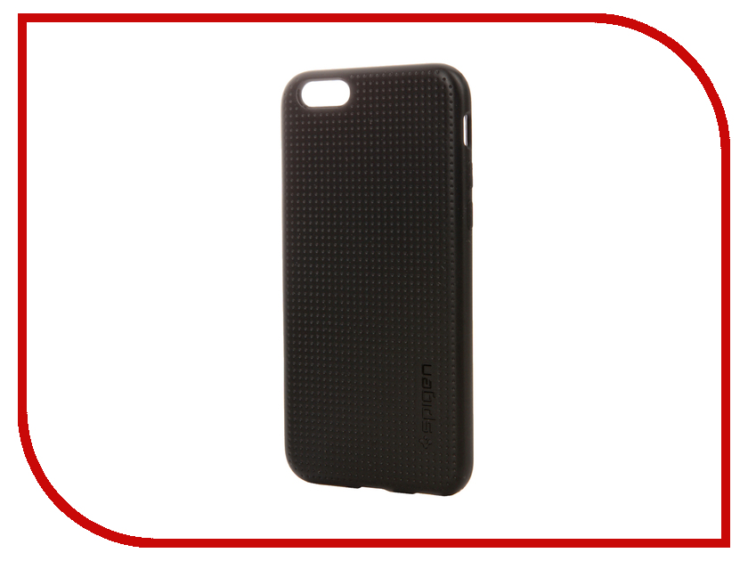 Аксессуар Чехол Spigen SGP Capsule Series (PET) для APPLE iPhone 6 4.7-inch Black SGP11019<br>