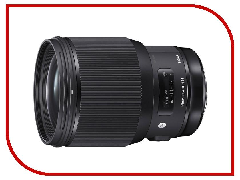 Объектив Sigma Nikon AF 85 mm F/1.4 DG HSM Art sigma af 50mm f 1 4 dg hsm art nikon