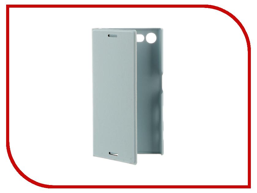 Аксессуар Чехол Sony Xperia X Compact BROSCO PU Blue XC-BOOK-MISTBLUE<br>