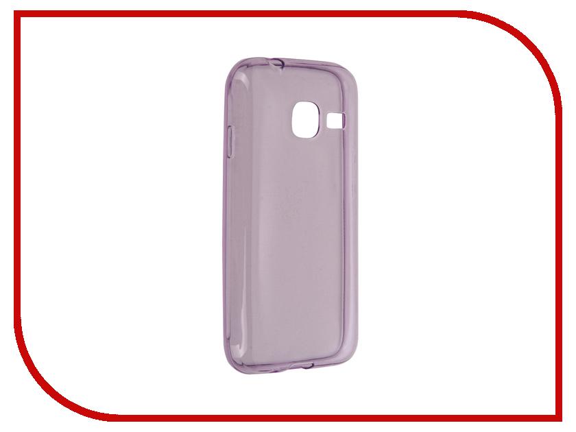 Аксессуар Чехол Samsung Galaxy J1 Mini BROSCO Purple SS-J1M-TPU-PURPLE<br>