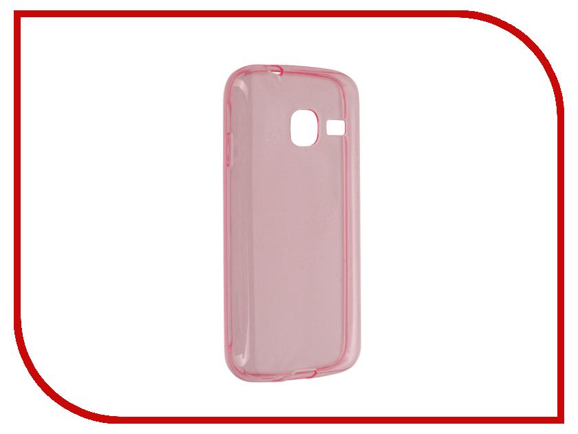Аксессуар Чехол Samsung Galaxy J1 Mini BROSCO Pink SS-J1M-TPU-PINK<br>