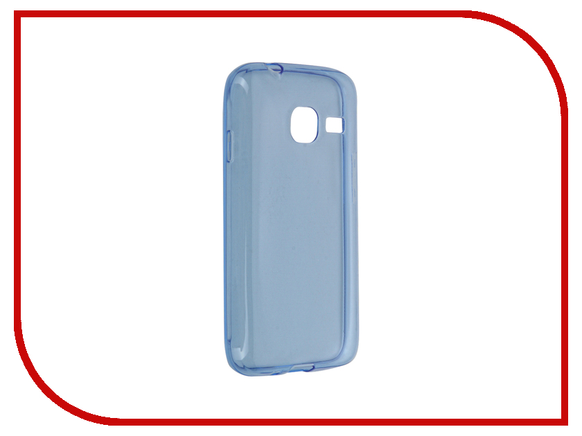 Аксессуар Чехол Samsung Galaxy J1 Mini BROSCO Blue SS-J1M-TPU-BLUE<br>