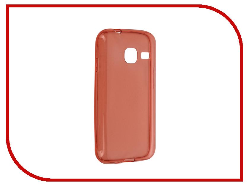 Аксессуар Чехол Samsung Galaxy J1 Mini BROSCO Red SS-J1M-TPU-RED<br>