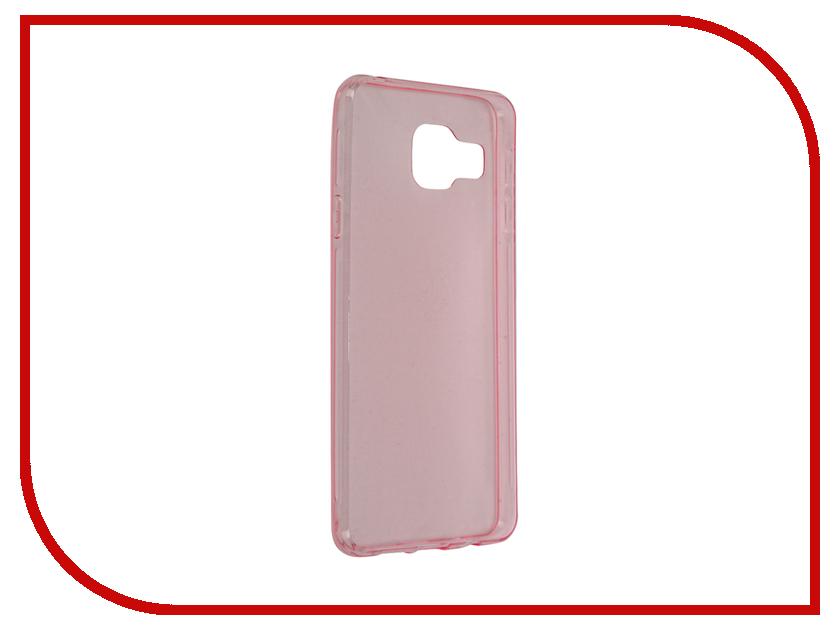 Аксессуар Чехол Samsung Galaxy A3 2016 BROSCO Pink SS-A3-TPU-PINK аксессуар чехол samsung galaxy a3 2017 cojess tpu 0 3mm transparent