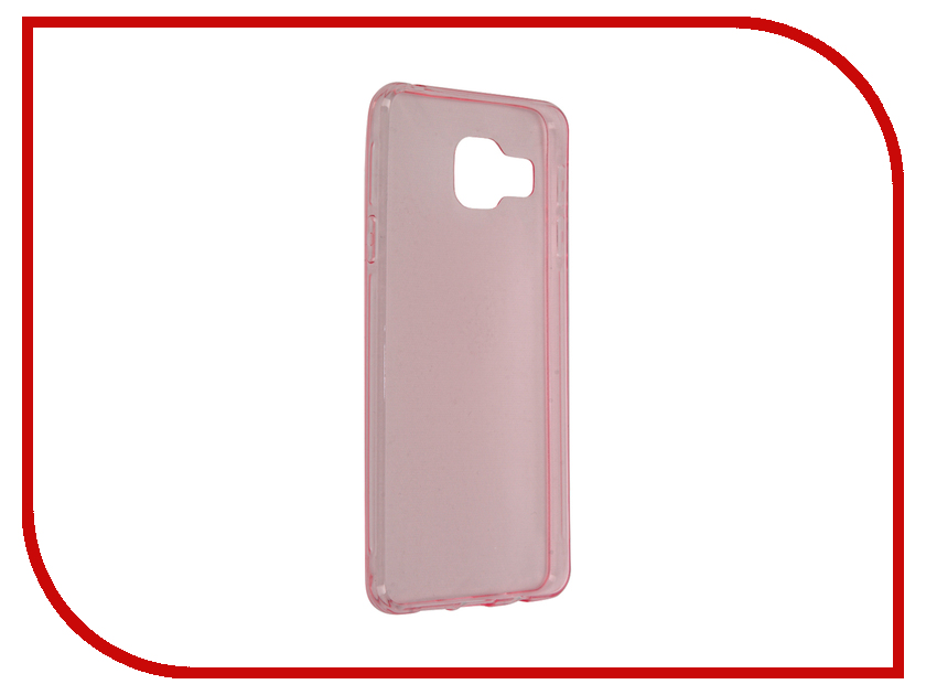 все цены на Аксессуар Чехол Samsung Galaxy A3 2016 BROSCO Pink SS-A3-TPU-PINK