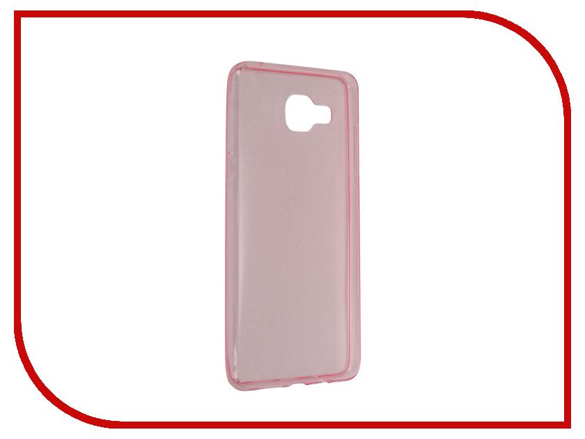 все цены на Аксессуар Чехол Samsung Galaxy A5 2016 BROSCO Pink SS-A5-TPU-PINK