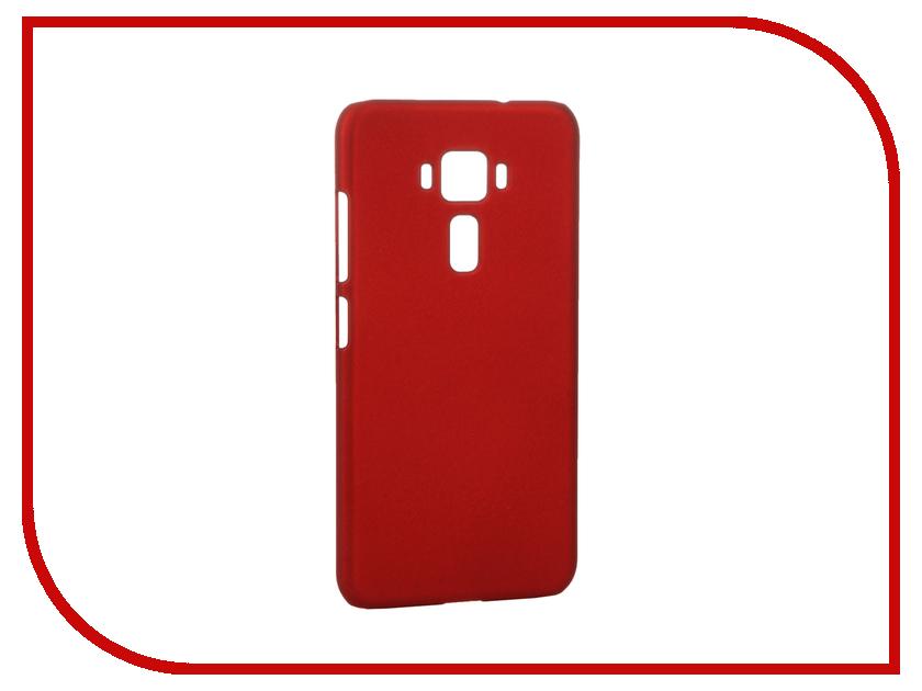 Аксессуар Чехол ASUS ZenFone 3 ZE520KL SkinBOX 4People Red T-S-AZE520KL-002 + защитная пленка<br>