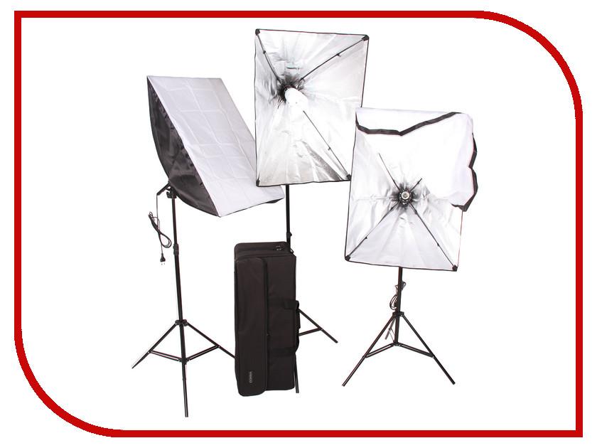 Комплект студийного света FST ET-573 KIT комплект света lumifor amato 100 adv kit