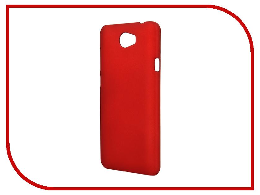 Аксессуар Чехол Huawei Y5 II SkinBox 4People Red T-S-HY5II-002<br>
