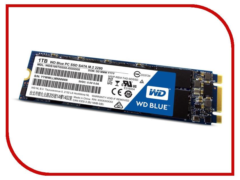 Жесткий диск 1Tb - Western Digital WDS100T1B0B<br>