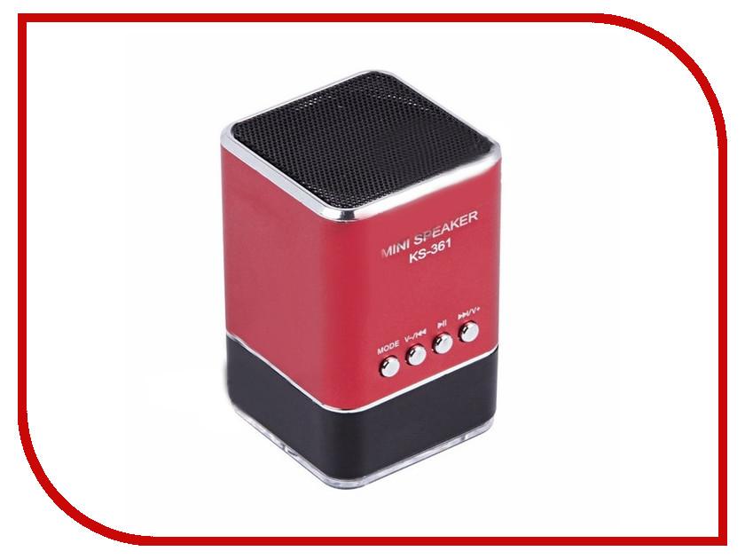 Колонка Rexant 2161 18-2161-6 Red<br>