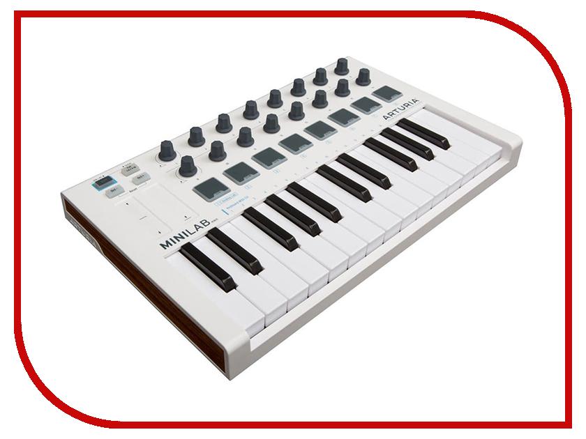 MIDI-клавиатура Arturia MiniLab MKII a081829 noritsu qss3301 minilab roller