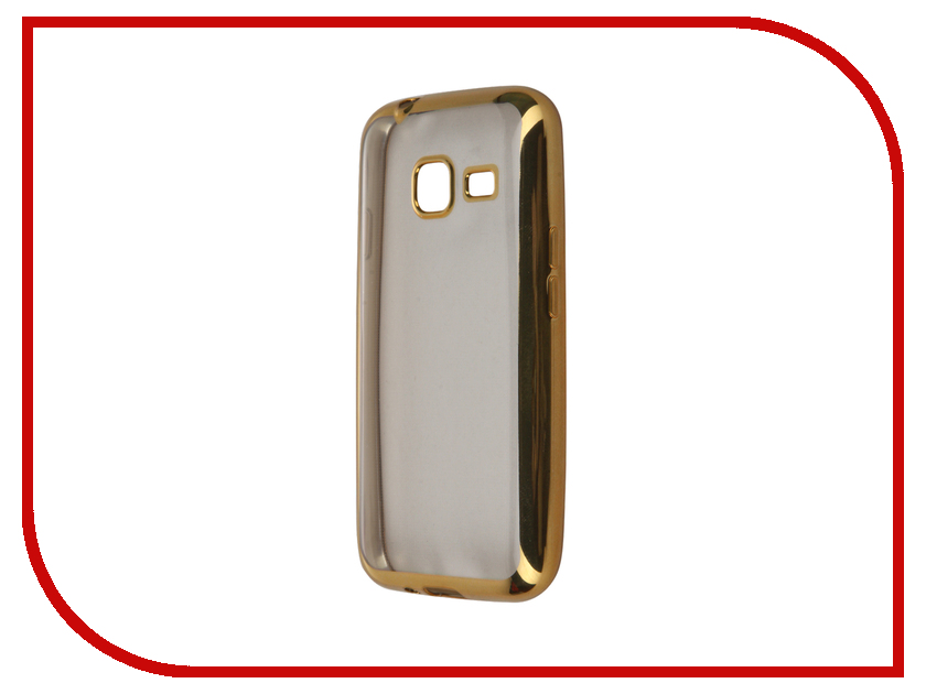 Аксессуар Чехол-накладка Samsung Galaxy J1 mini (2016) SkinBox Silicone Chrome Border 4People Gold T-S-SGJ1M2016-008 аксессуар чехол накладка samsung galaxy j3 2016 skinbox silicone chrome border 4people dark silver t s sgj32016 008
