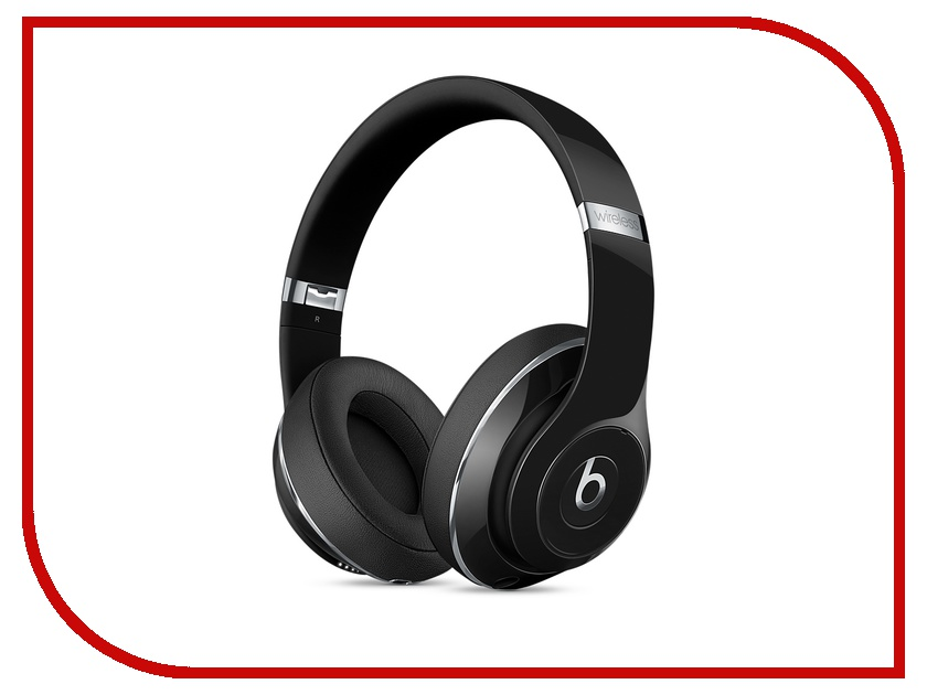 Гарнитура Beats Dr. Dre Studio 2 Wireless Headphones Gloss Black MP1F2ZE/A<br>