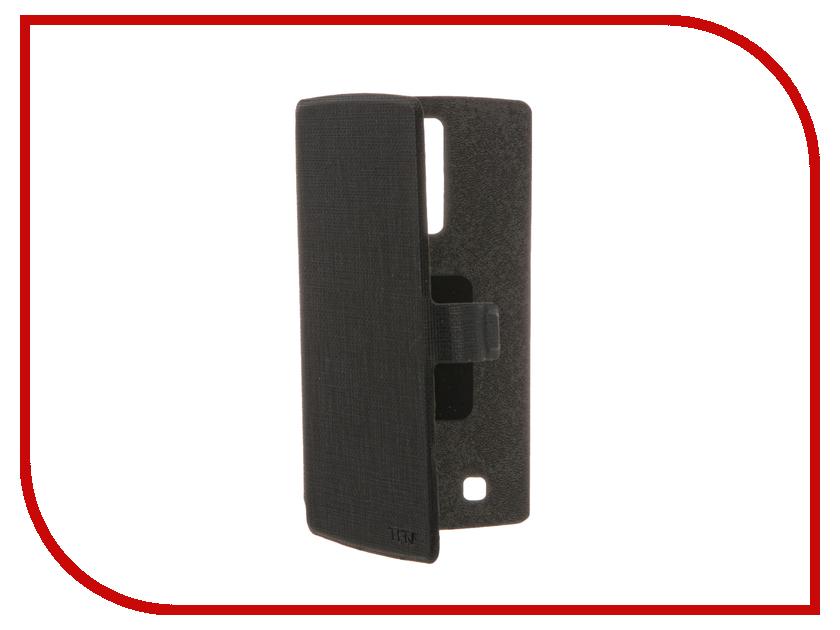 Аксессуар Чехол LG K7 X210 TFN FlipCover Dark Gray TFN-BC-04-014PUCH