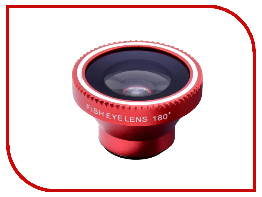 Аксессуар Объектив Fotololo Fisheye F-003 Red<br>