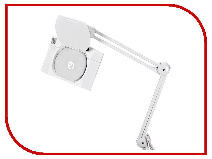 Лупа настольная Rexant 5x с подсветкой 108 LED White 31-0513 rexant 3x 12x с подсветкой white 31 0242