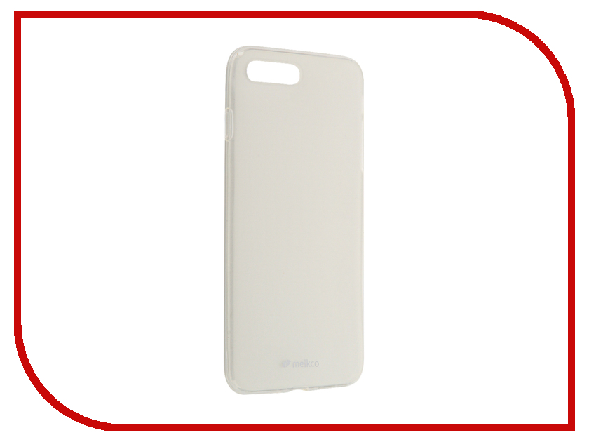 Аксессуар Чехол Melkco TPU для iPhone 7 Plus матовый Transparent 12781<br>