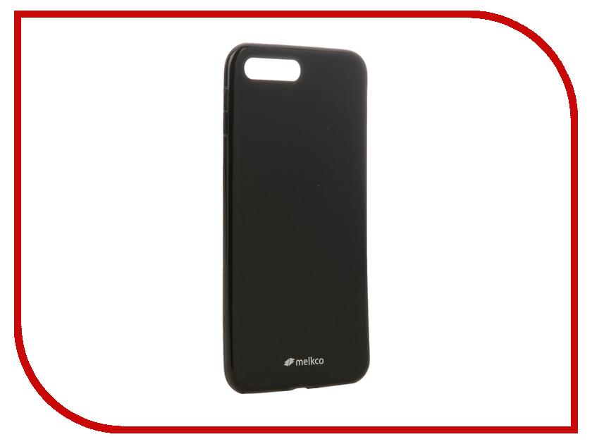 Аксессуар Чехол Melkco TPU для iPhone 7 Plus матовый Black 12780<br>