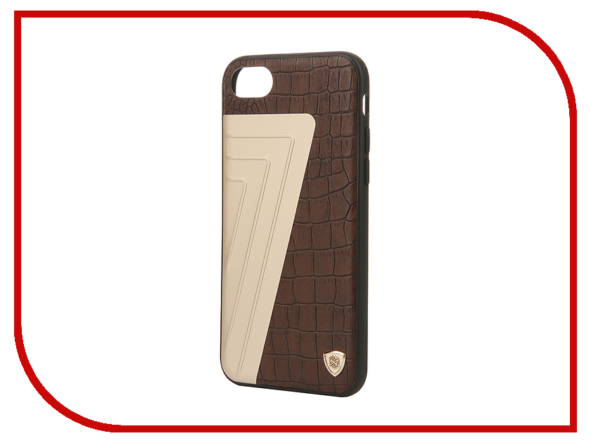 Аксессуар Чехол Nillkin Hybrid Case iPhone 7 Brown T-N-AI7-032 аксессуар чехол nillkin nature tpu для iphone 7 8 white n tpu ap iphone7