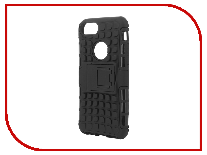 Аксессуар Чехол SkinBox Defender для iPhone 7 Black T-S-AI7-06