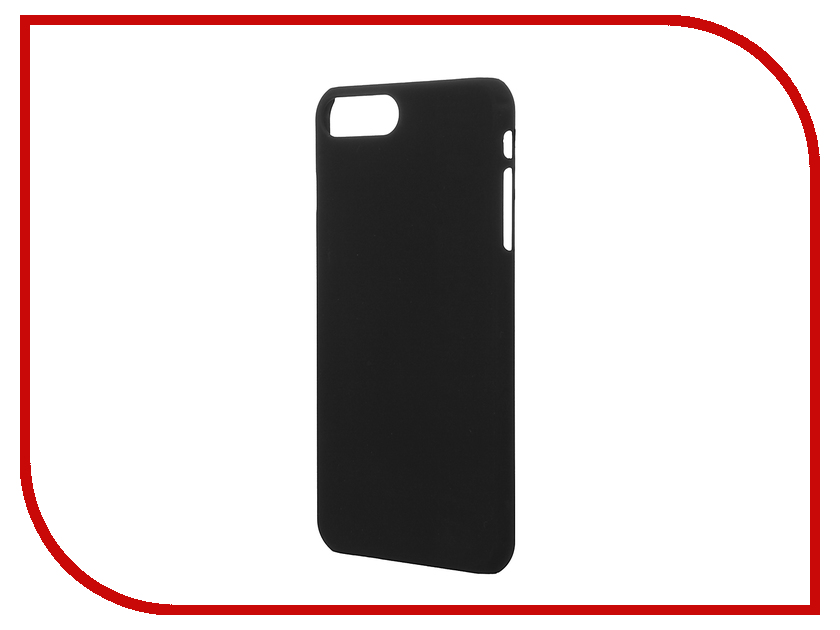 Аксессуар Чехол SkinBox 4People для iPhone 7 Plus Black T-S-AI7P-002<br>