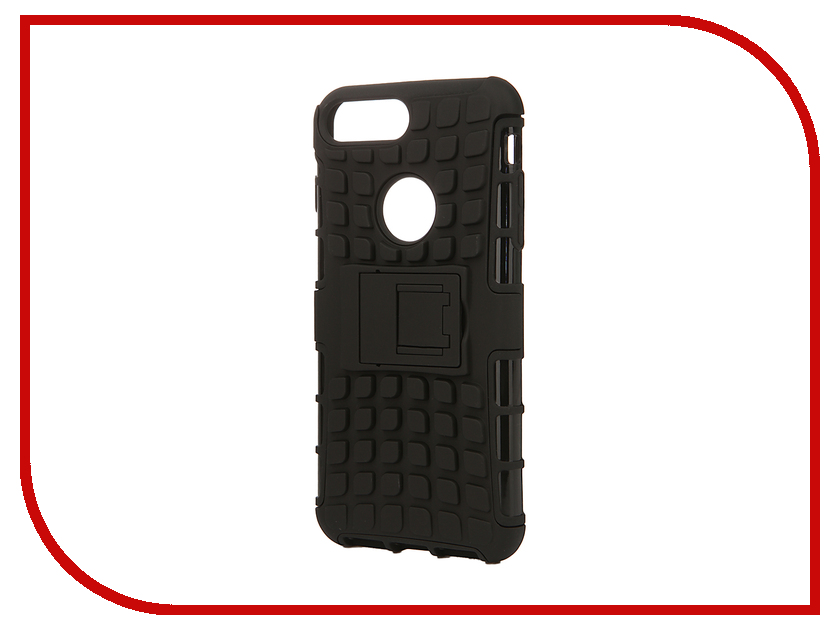 Аксессуар Чехол SkinBox Defender для iPhone 7 Plus Black T-S-AI7P-06<br>