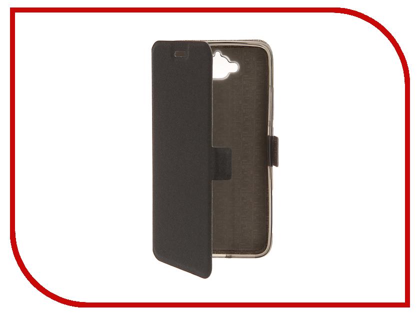 Аксессуар Чехол Huawei 4C Pro SkinBox Prime Book Black T-P-H4CP-05<br>