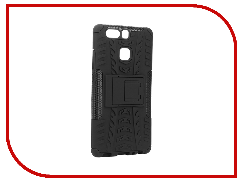 Аксессуар Чехол Huawei P9 SkinBox Defender Black T-HP9-06