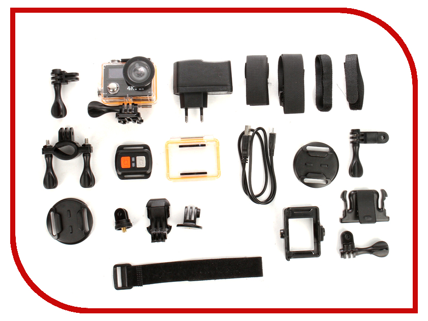 Экшн-камера EKEN H8PRO Ultra HD Black parkcity go 10 pro black экшн камера