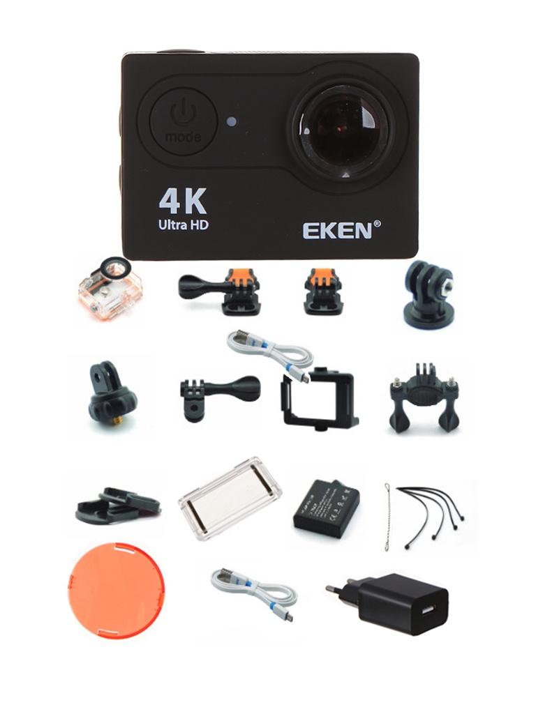лучшая цена Экшн-камера EKEN H9 Ultra HD Black