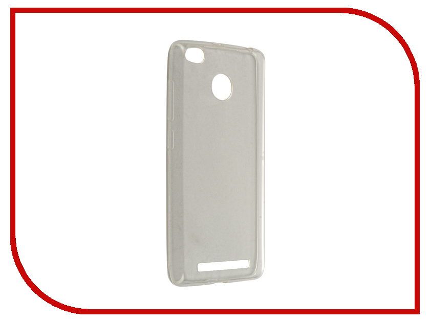 Аксессуар Чехол Xiaomi Redmi 3 Pro Zibelino Ultra Thin Case White ZUTC-XMI-RDM-3PRO-WHT<br>