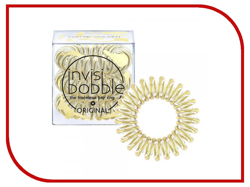 Резинка для волос Invisibobble Time To Shine Youre Golden 3шт