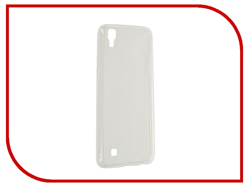 Аксессуар Чехол LG X Power K220DS SkinBox Slim Silicone Transparent T-S-LXP-006