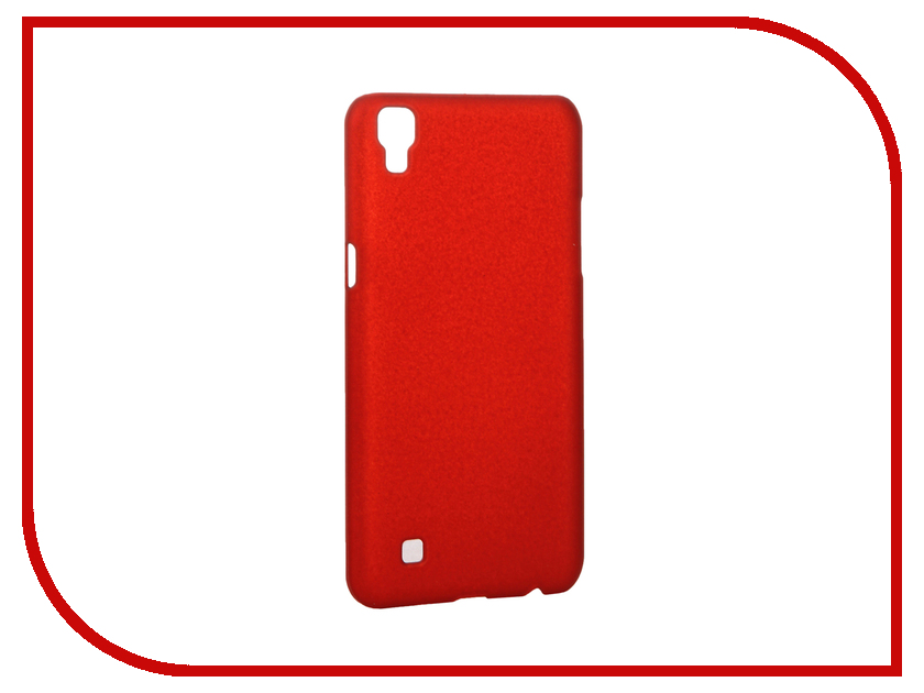 Аксессуар Чехол LG X Power K220DS SkinBox Shield 4People Red T-S-LK220DS-002