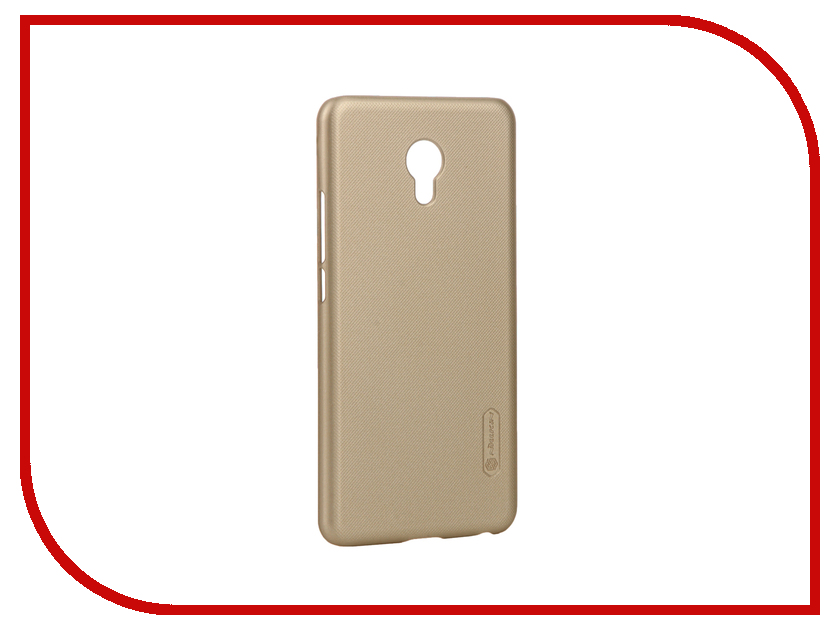 Аксессуар Чехол Meizu MX6 Nillkin Super Frosted Shield Gold T-N-MMX6-002<br>