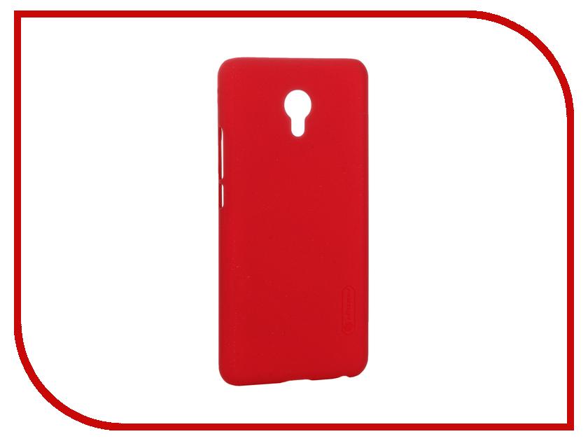 Аксессуар Чехол Meizu MX6 Nillkin Super Frosted Shield Red T-N-MMX6-002<br>