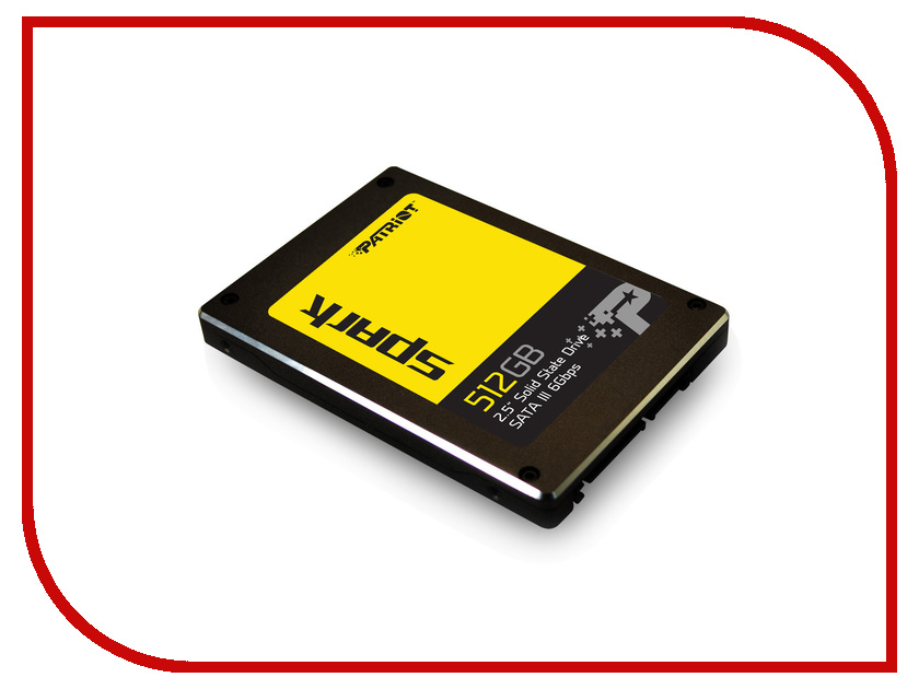 Жесткий диск 512Gb - Patriot Memory Spark PSK512GS25SSDR<br>