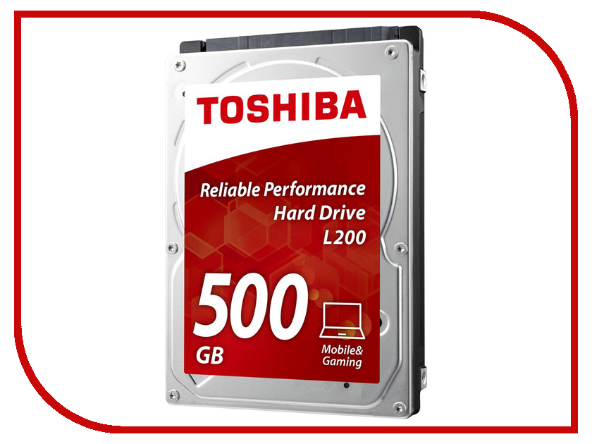 Жесткий диск 500Gb - Toshiba L200 HDWK105UZSVA verbatim 500gb 53070