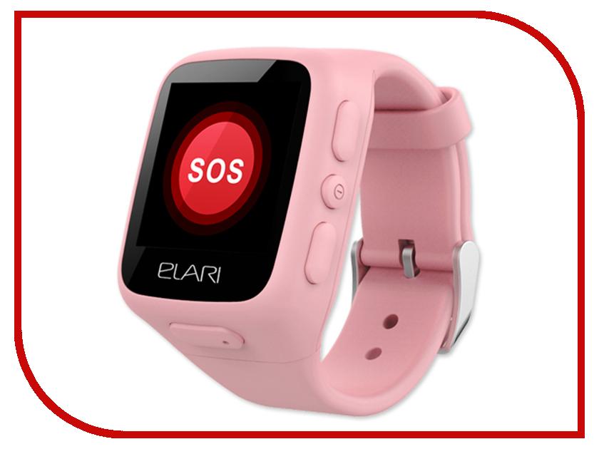 Elari KidPhone Pink внешний аккумулятор elari powercard черный