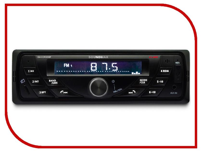 Автомагнитола Soundmax SM-CCR3058F цена